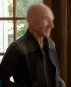 Star Trek Picard Jean-Luc Picard Black Vest