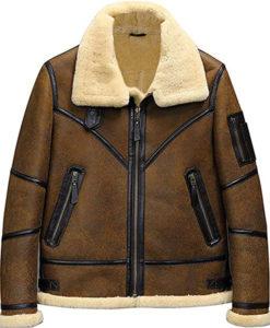 Men's Aviator B3 Flight Shearling Jacket