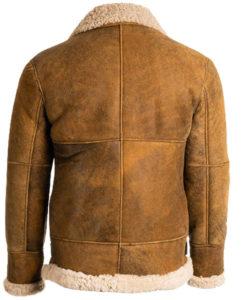 Men's B3 Aviator Brown Leather Jacket