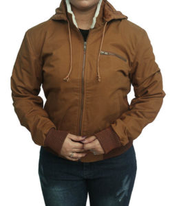 Yellowstone Beth Dutton Brown Cotton Jacket