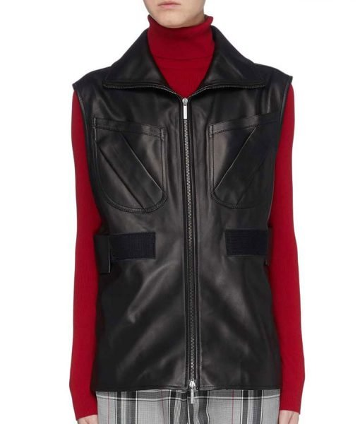 L.A.'s Finest Sydney Burnett Leather Vest
