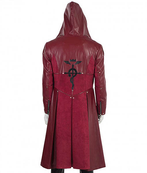 Fullmetal Alchemist Edward Elric Hooded Coat