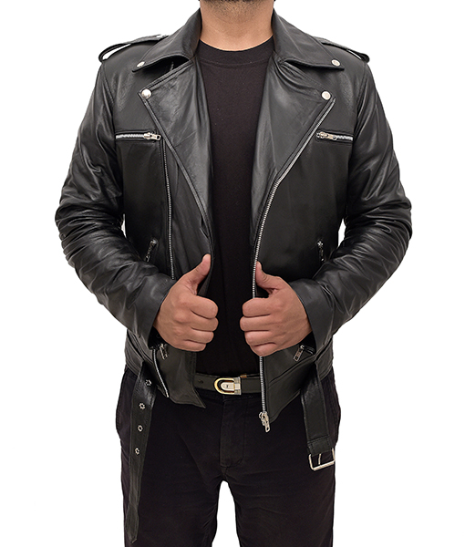 The Nowhere Inn 2021 Brian Leather Jacket